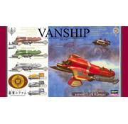 Hasegawa (HSG) Tatiana's Vanship & Fam's Vespa (Last Exile)