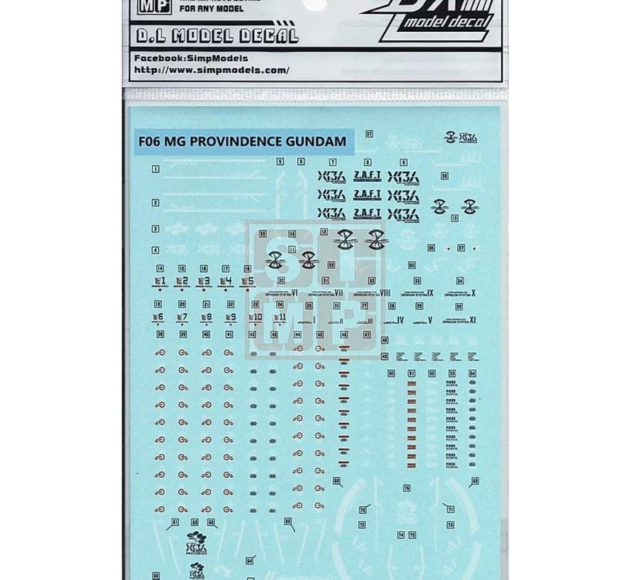 SIM06-10-F06 MG Providence Gundam