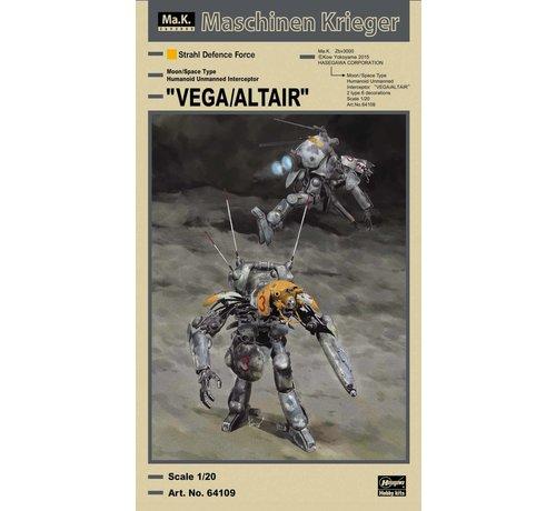 """Hasegawa (HSG) 64109 """"VEGA/ALTAIR"""" MASCHINEN KRIEGER 1/20"""