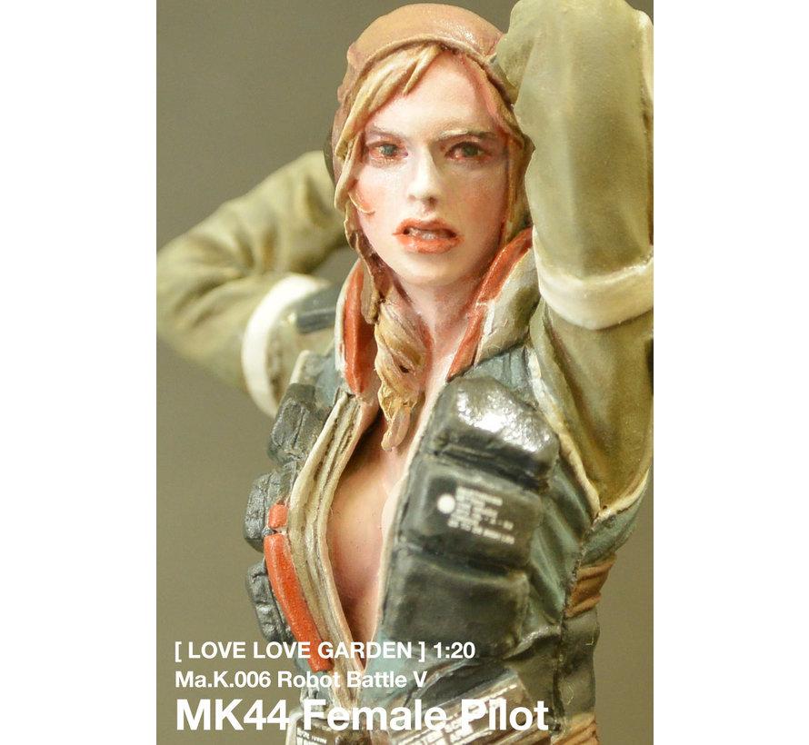 MAK006 Ma.K.006. MK44 Female Pilot Figure 1/20 Maschinen Krieger