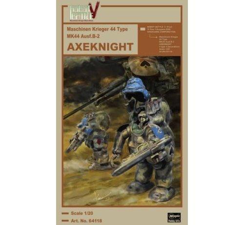 Hasegawa (HSG) 64118 Robot Battle V: Maschinen Krieger 44 Type Mk 44 Ausf B2 Axeknight (Ltd Edition) 1/20
