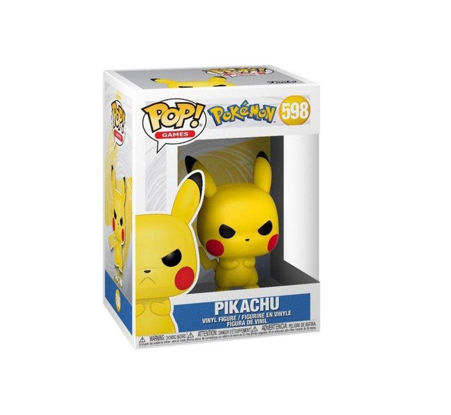 48401 Pokemon Grumpy Pikachu Pop! Vinyl Figure