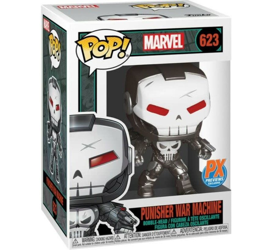 198704 Marvel Punisher War Machine Pop! Vinyl Figure - PX