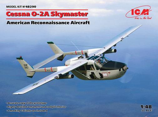 ICM Models (ICM) 48290 Cessna O-2A Skymaster 1/48