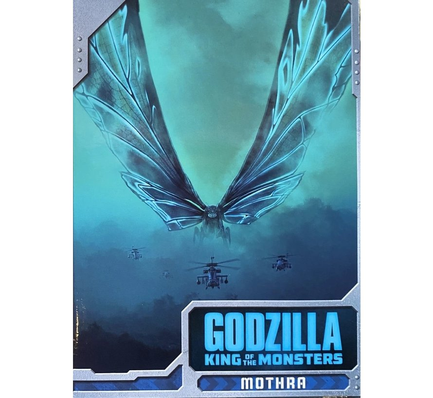 "42897 Godzilla - King of Monsters - 12"" Wing-to-Wing Action Figure - Mothra ""Poster Version"""
