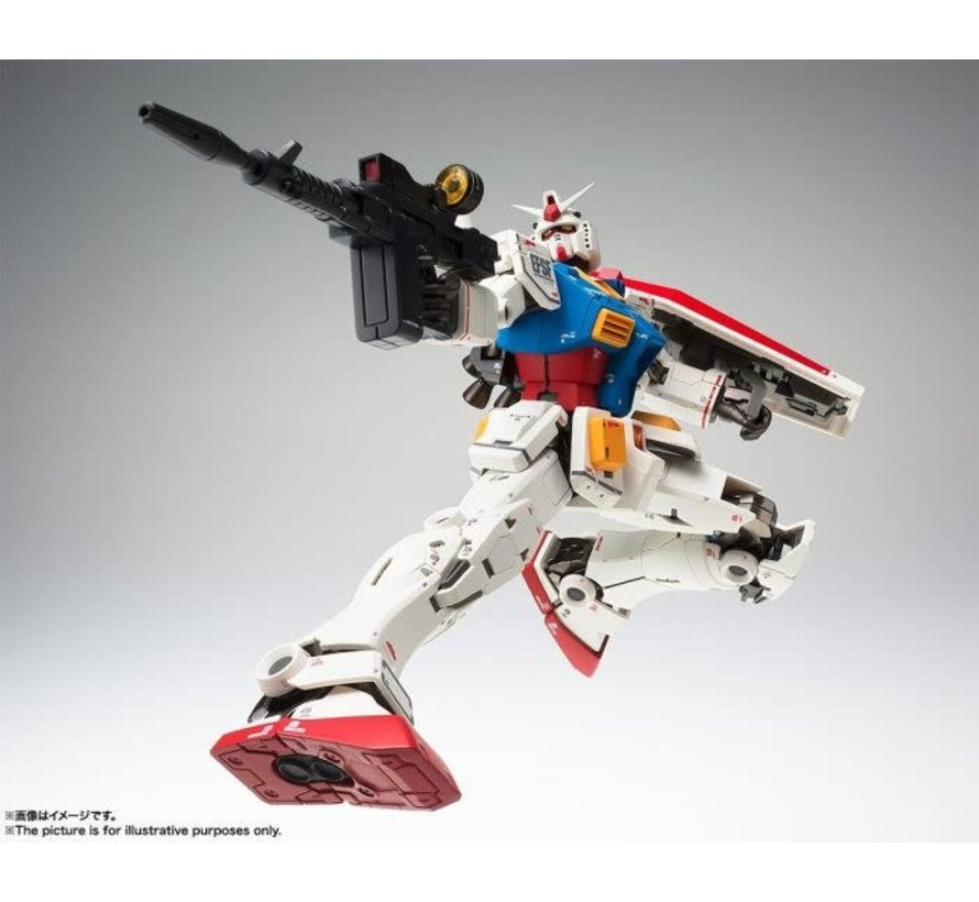 "55797 RX-78-02 Gundam (40th Anniversary Ver.) ""Mobile Suit Gundam: The Origin"", Bandai Gundam Fix Figuration Metal Composite"