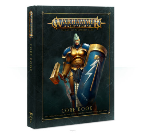 Games Workshop -GW 80-02-60 WARHAMMER: AGE OF SIGMAR CORE BOOK (ENG)