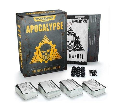 Games Workshop -GW 40-09-60 Apocalypse The Mass-Battle System - Warhammer 40,000
