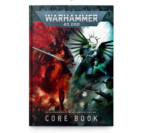 Games Workshop -GW 40-02 WARHAMMER 40,000: CORE BOOK