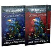 Games Workshop -GW CHAPTER APPROVED: GRAND TOURNAMENT 2020 MISSION PACK & MUNITORUM FIELD MANUAL