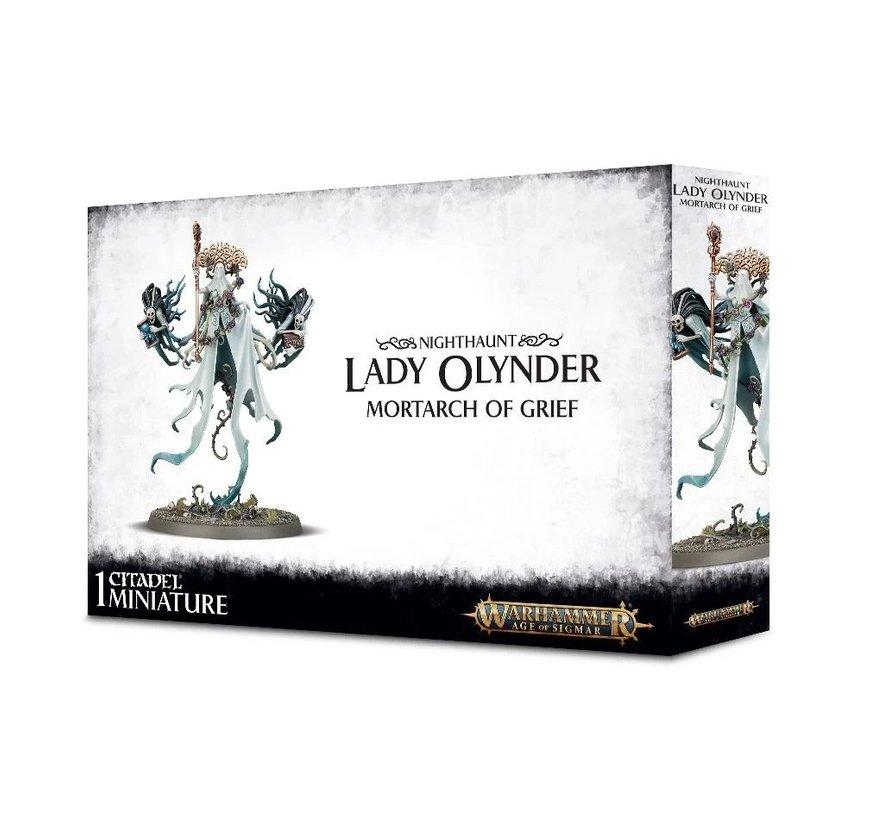 91-25 NIGHTHAUNT Lady Olynder, Mortarch of Grief