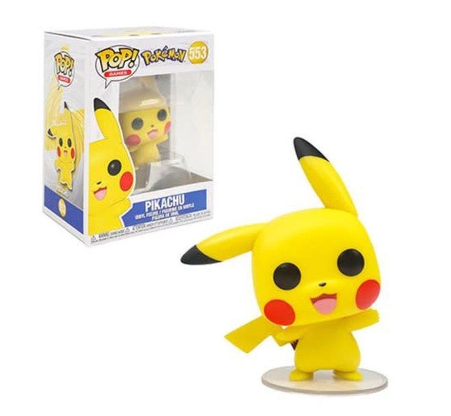 43263 Pokemon Pikachu Waving Pop! Vinyl Figure #553