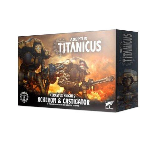 Games Workshop -GW 400-37 ADEPTUS TITANICUS: CERASTUS KNIGHTS ACHERON & CASTIGATOR