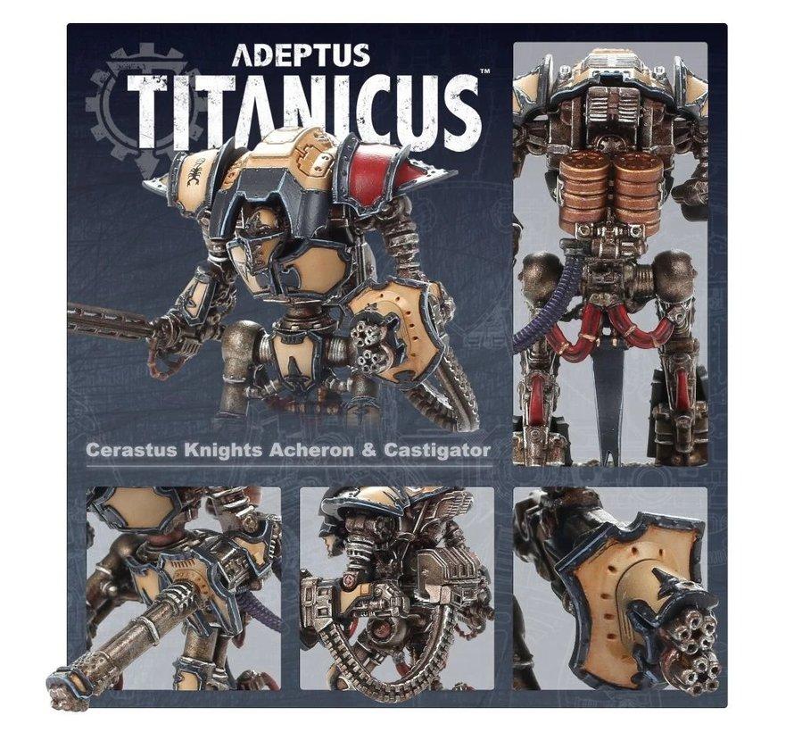 400-37 ADEPTUS TITANICUS: CERASTUS KNIGHTS ACHERON & CASTIGATOR