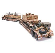 Tamiya (TAM) 865- 35246 FAMO and Tank Transporter 1/35