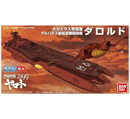 Bandai 195691 #14 Space Battleship Yamato 2199 Mecha-Collection Darold