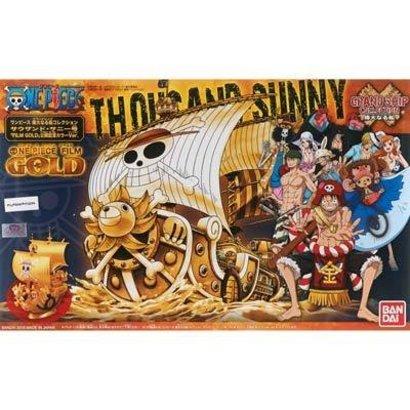 BANDAI MODEL KITS 207582 One Piece Thousand Sunny Grand Ship Collection