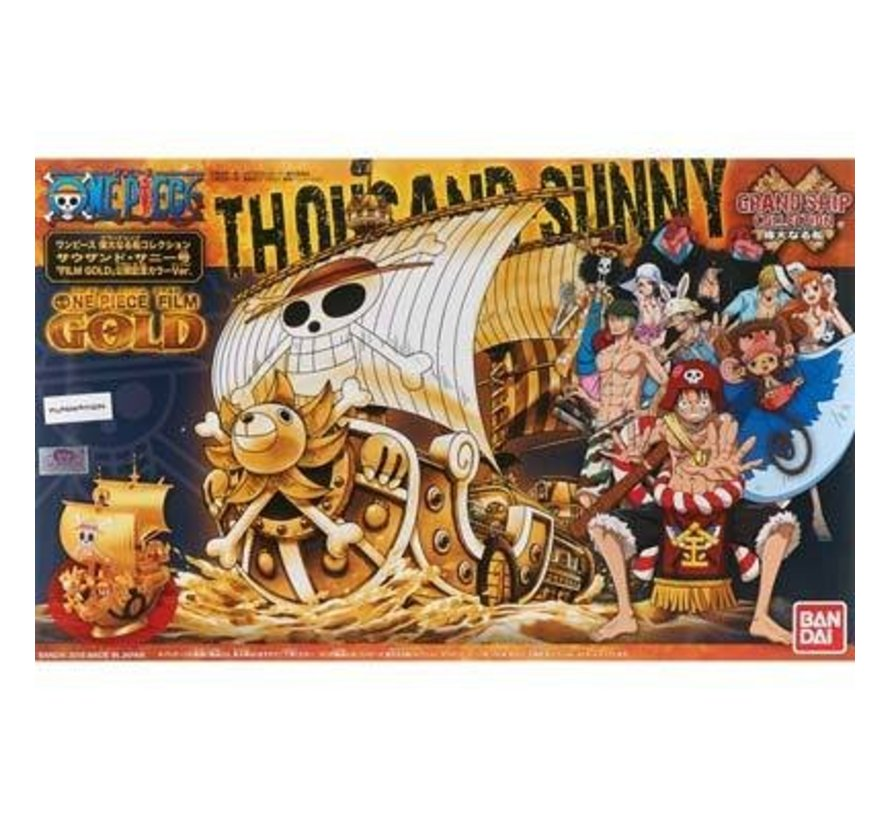207582 One Piece Thousand Sunny Grand Ship Collection
