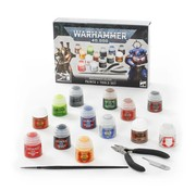 Games Workshop -GW 40K PAINTS + TOOLS SET