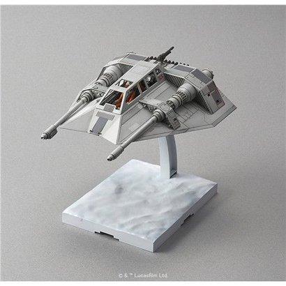 "BANDAI MODEL KITS 196692 Snow Speeder ""Star Wars"", Bandai Star Wars 1/48 Plastic Model"