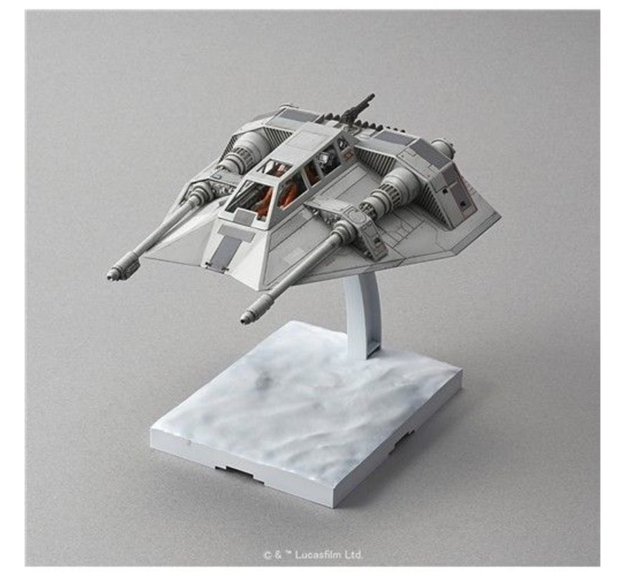 "196692 Snow Speeder ""Star Wars"", Bandai Star Wars 1/48 Plastic Model"