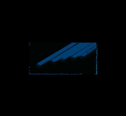 Evergreen (EVG) 269- 213 Round Rod .100 (2.5MM) OD WHITE POLYSTYRENE
