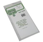 """Evergreen (EVG) 269- 9020 White Sheet  .020"""" (.50MM) PLAIN OPAQUE POLYSTYRENE"""