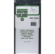 Evergreen (EVG) 269- White Sheet .080 x 6 x 12