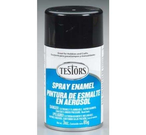 Testors (TES) 704- 1247T Spray Enamel 3oz Gloss Black *