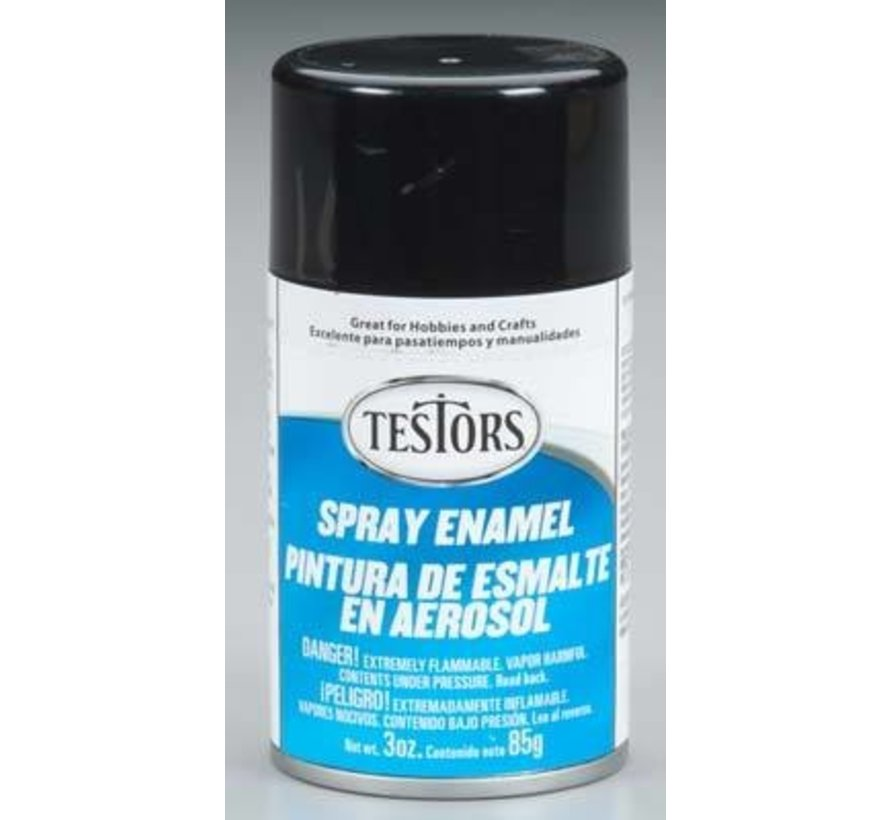 1247T Spray Enamel 3oz Gloss Black *