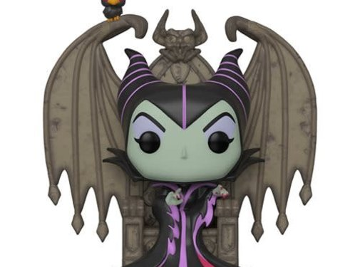 Funko Pop! Sleeping Beauty Maleficent on Throne Deluxe Pop!