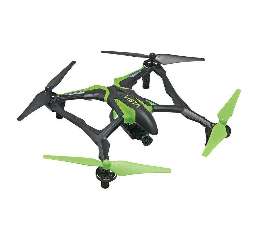 E04GG Vista FPV UAV Quadcopter RTF Green