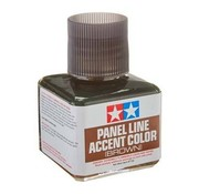 Tamiya (TAM) 865- 87132 Panel Line Accent Color Brown