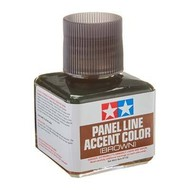 TAM - Tamiya 865- 87132 Panel Line Accent Color Brown