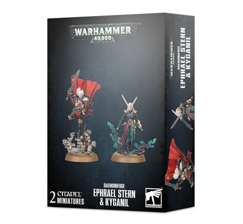 Games Workshop -GW 40-50 DAEMONIFUGE - EPHRAEL STERN & KYGANIL
