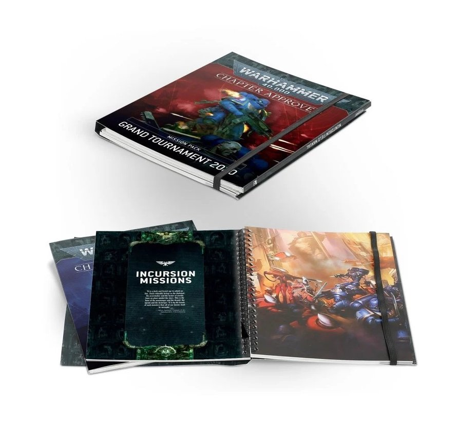 40-10 CHAPTER APPROVED: GRAND TOURNAMENT 2020 MISSION PACK & MUNITORUM FIELD MANUAL