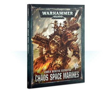 Games Workshop -GW CODEX: CHAOS SPACE MARINES 2