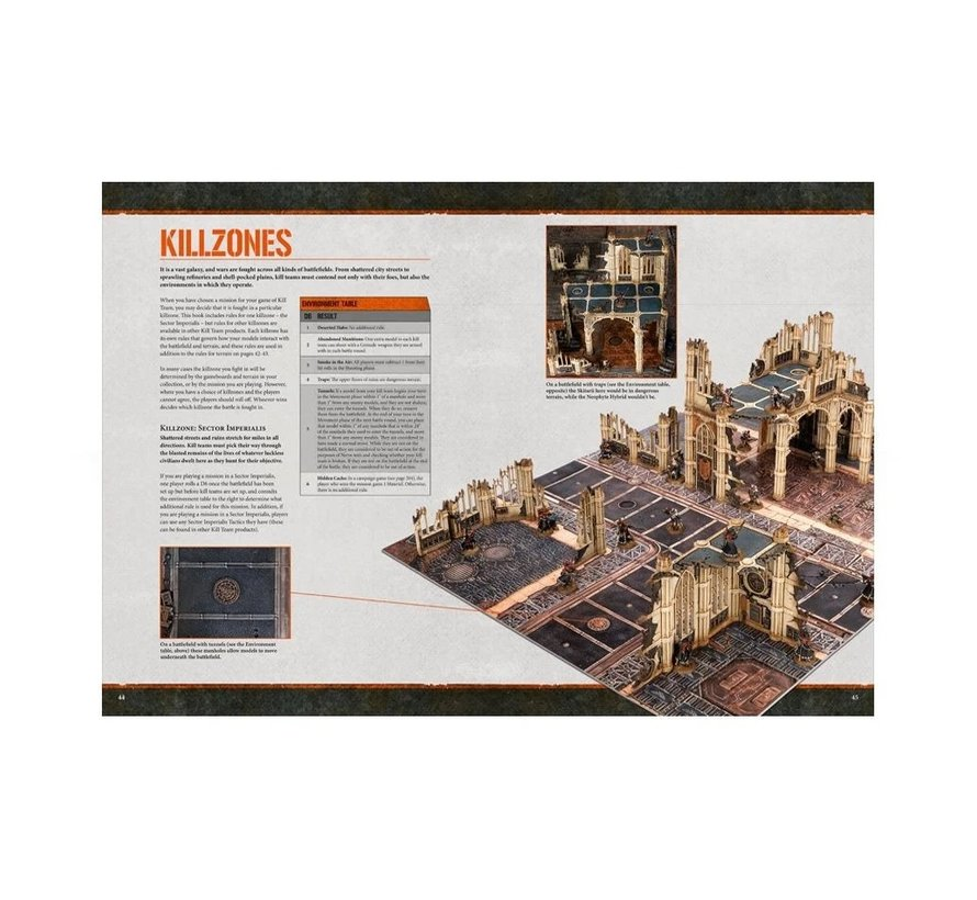 102-01 WARHAMMER 40,000: KILL TEAM CORE MANUAL
