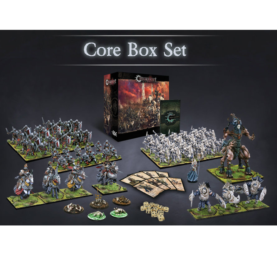 10016 English Core Box Two Player Starter Set