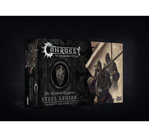 Conquest Games 10054 Conquest, Hundred Kingdoms - Steel Legion (PBW2221)