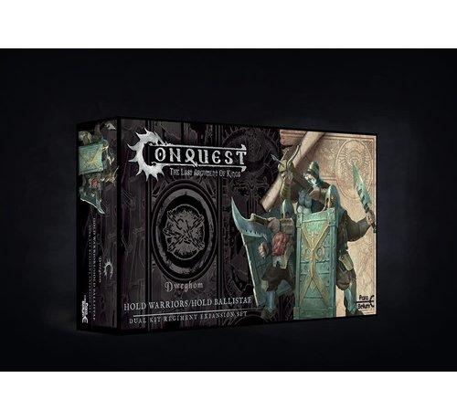 Conquest Games 10368 Conquest, Dweghom - Hold Ballistae / Hold Warriors (PBW3301)