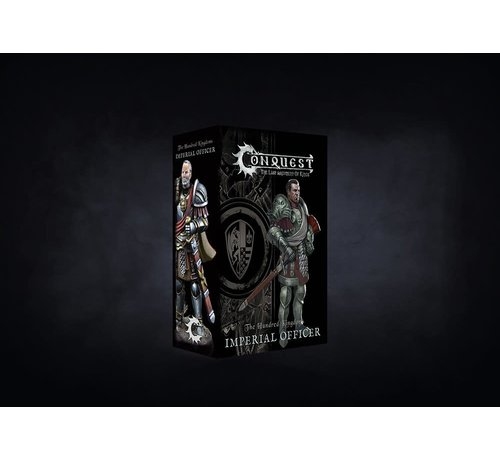 Conquest Games 10269 Conquest, Hundred Kingdoms - Imperial Officer (PBW7224)