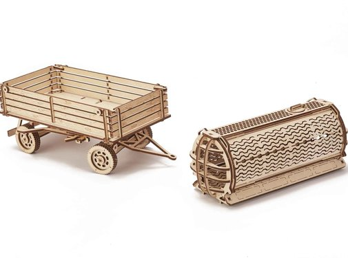 USA Wood Trick (UWT) Trailer for tractor