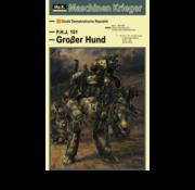 Hasegawa (HSG) GroBer Hund - Maschinen Krieger Humanoid Unmanned Interceptor 1/20