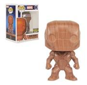 Funko Pop! Iron Man Wood Deco Pop! - Entertainment Earth Exclusive