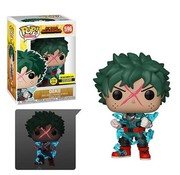 Funko Pop! My Hero Academia Deku Full Cowl Glow-in-the-Dark Pop! - Entertainment Earth Exclusive