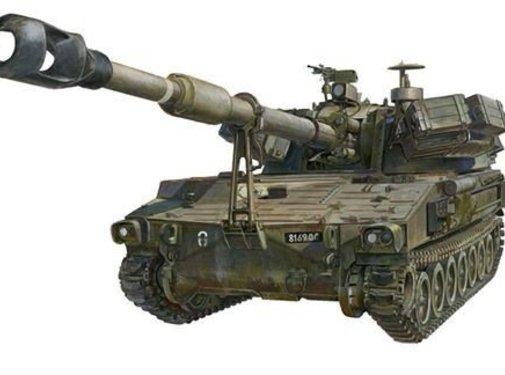 AFV CLUB (AFV) IDF M109A1 ROCHEV 1/35