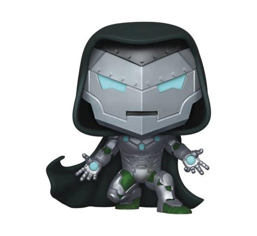 Marvel Infamous Iron Man Pop! Vinyl Figure - PX Halloween ComicFest 2020 Exclusive