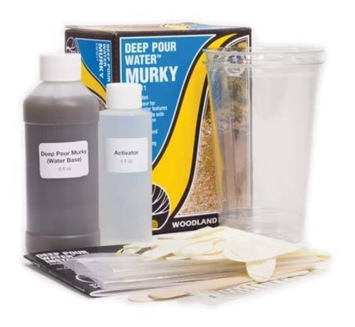 Woodland Scenics (WOO) 785- CW4511 Deep Pour Water Murky Kit