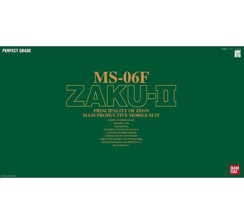 Bandai 072361 MS-06F Zaku II Green, Bandai PG